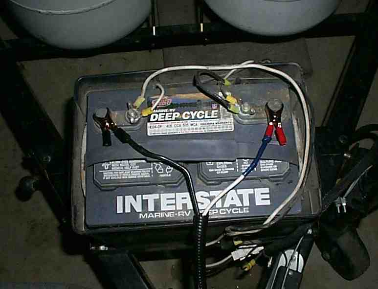 battery charge cable battery power for pop up camper at Rv Battery Wiring Color