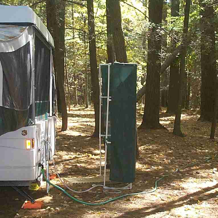 Charming Outdoor Camping Shower Ideas Part - 3: Shwr01.jpg (53784 Bytes)
