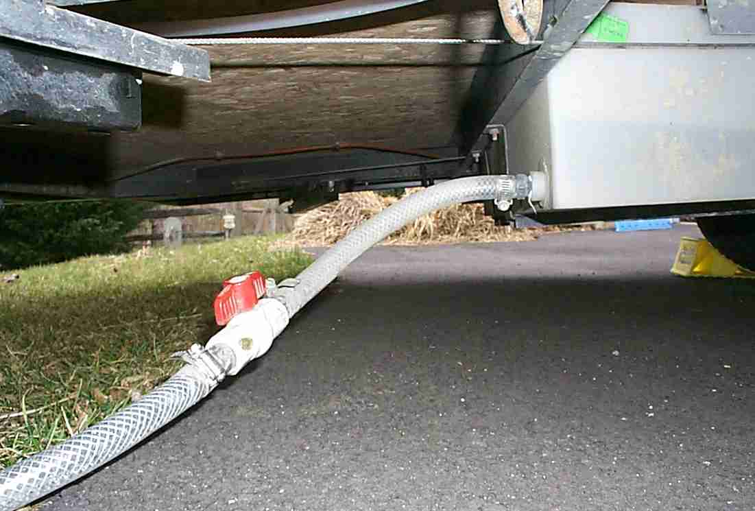 Drainage Water Tanks : Camper trailer water tank setup with beautiful photos in