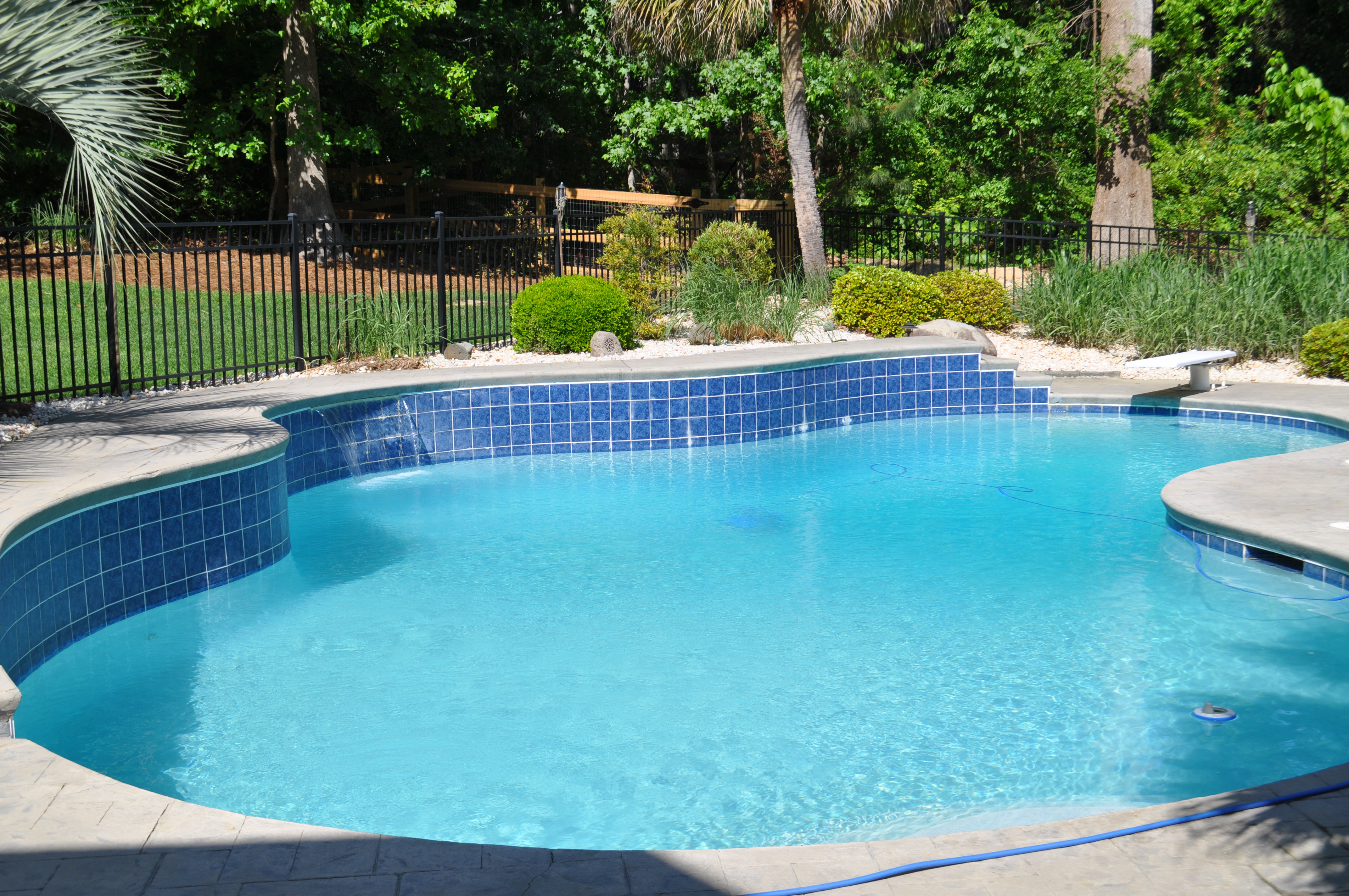 Waterproof Pool Tile Grout : Grout efflorescence in several areas