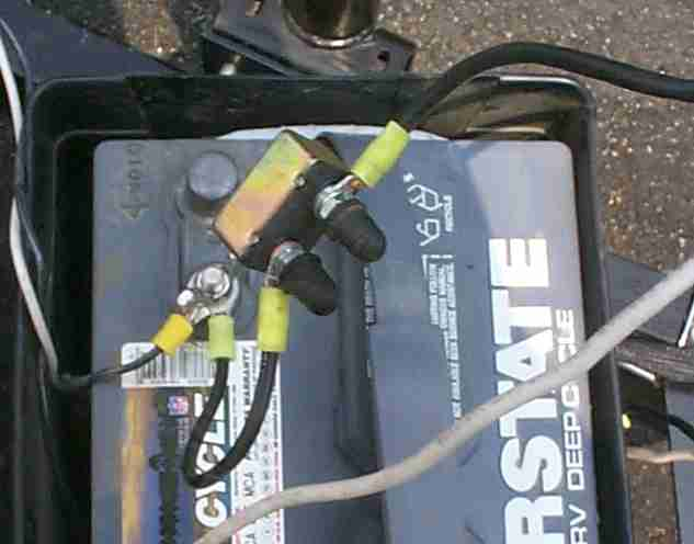 24 volt system wiring diagram adding a battery  adding a battery